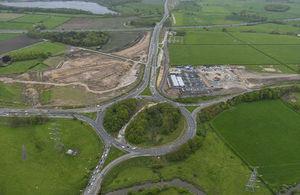 A556 motorways link