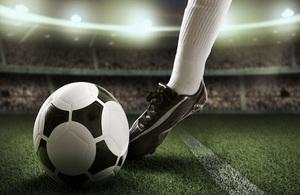 Football kick.