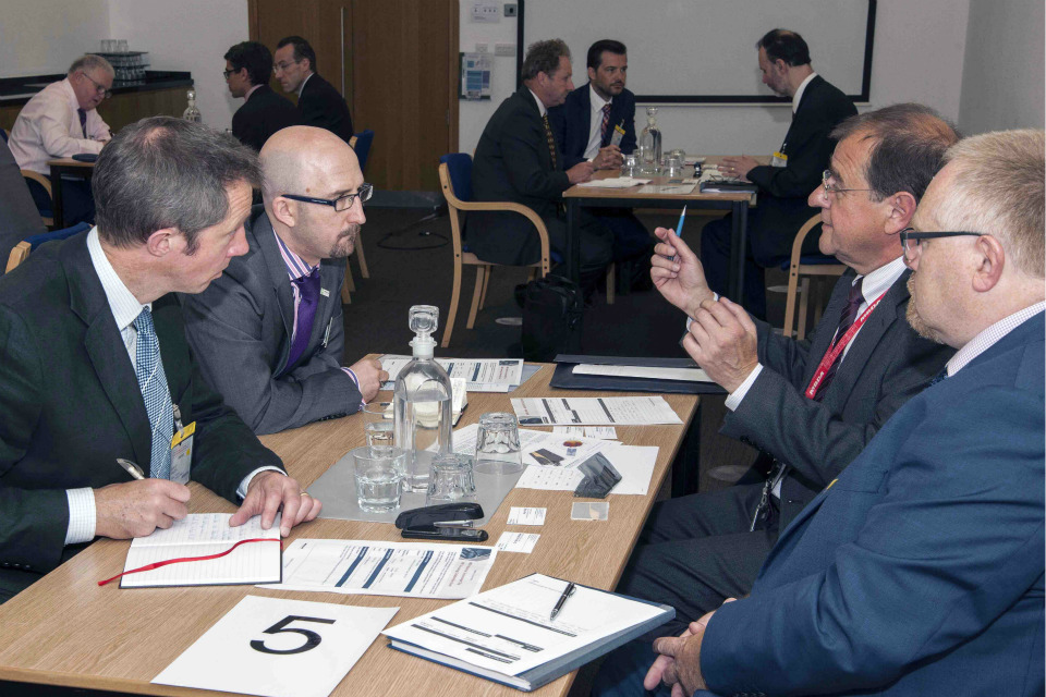 1 to 1 appointments with MBDA's technology teams offered great potential to UK SMEs