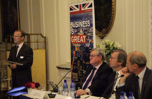 UK companies promote their expertise to Greek shipping