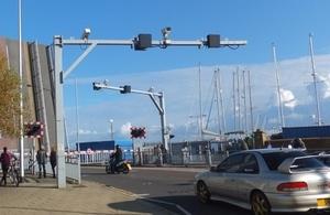 Replacement signals at Bascule Bridge