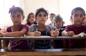 Students at Lebanese public school