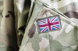 Uniform of a member of the armed forces. [©istock.com/tuned_in]