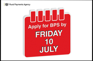 Image of calendar with 'Apply for BPS by Friday 10 July' written on it.
