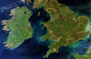 UK from space