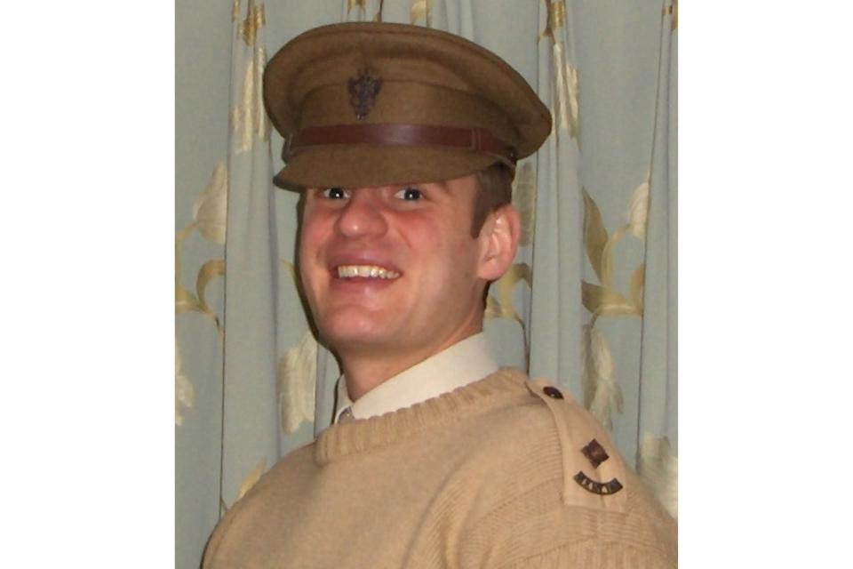 Lieutenant John Sanderson (All rights reserved.)