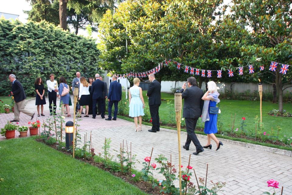 Queen's Birthday Party 2015 in Tirana