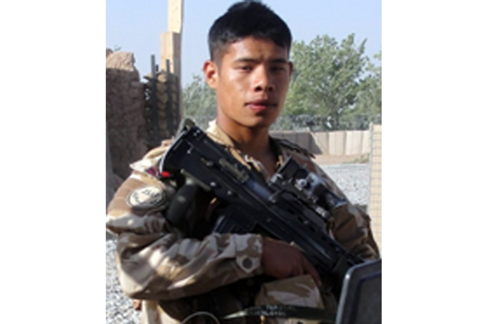 Sapper Ishwor Gurung (All rights reserved.)