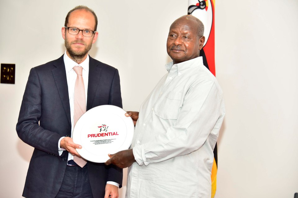 Prudential Africa CEO meets President Museveni