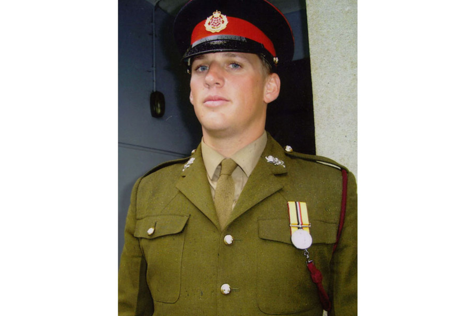 Lance Corporal Jordan Dean Bancroft (All rights reserved.)