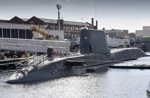 HMS Artful is the Royal Navy's latest Astute submarine