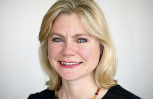 Photograph of Justine Greening