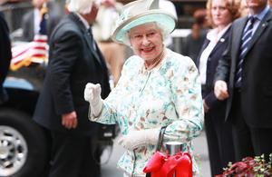 HM Queen Elizabeth II visits New York City in 2010.