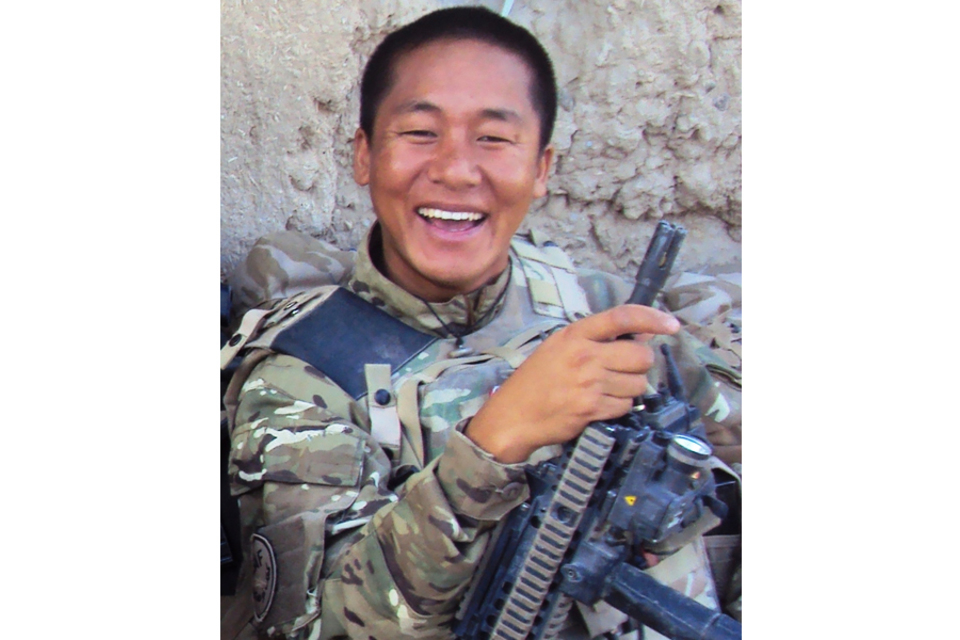 Rifleman Suraj Gurung (All rights reserved.)