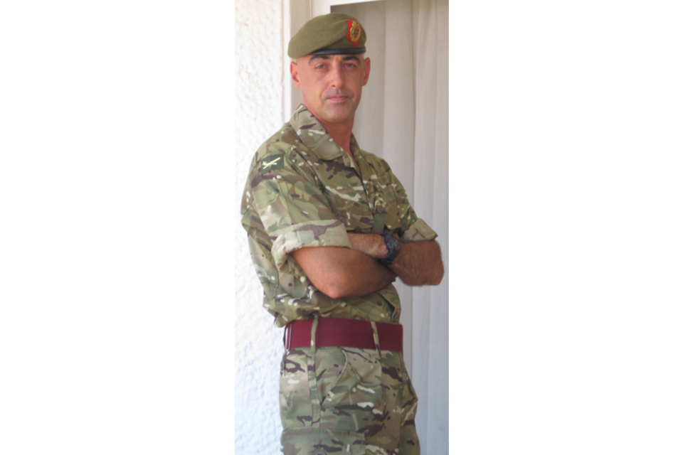 Sergeant Peter Anthony Rayner (All rights reserved.)