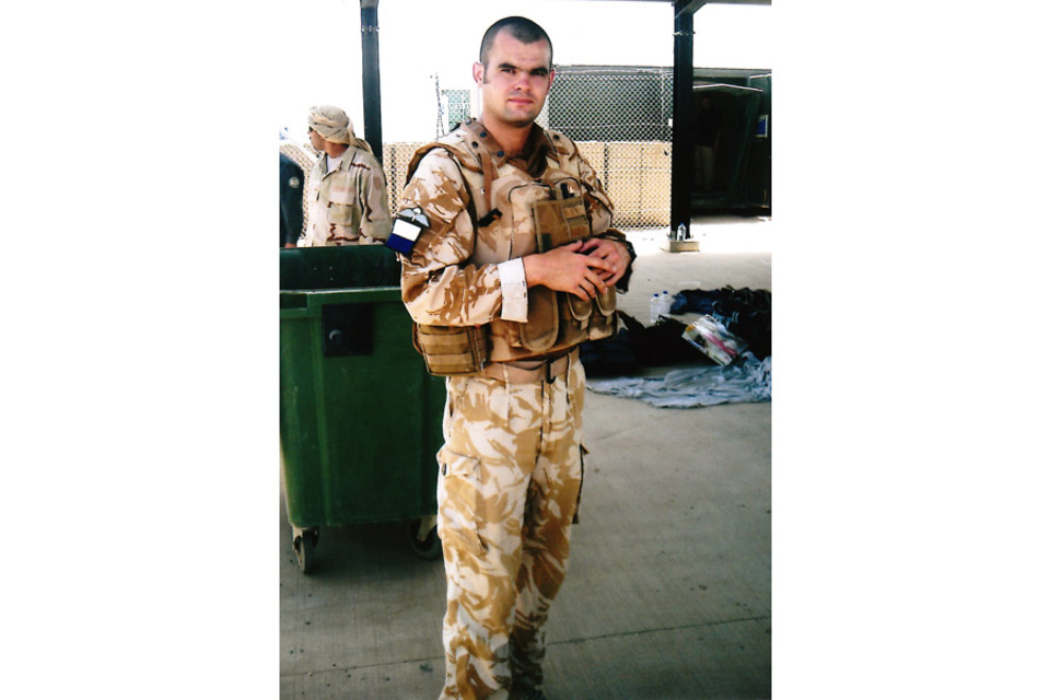 Corporal Steven Dunn (All rights reserved.)