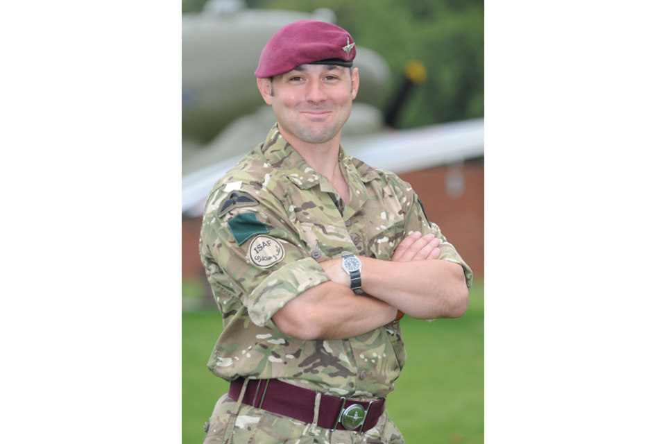 Warrant Officer Class 2 (Company Sergeant Major) Colin Beckett (All rights reserved.)