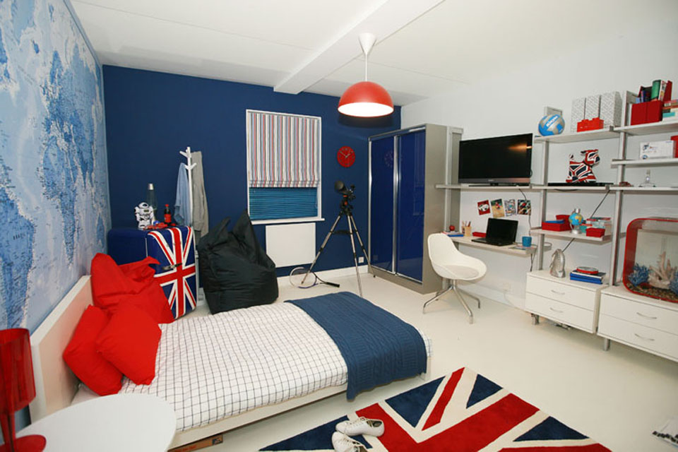 Bedroom designed for youth at this year's Ideal Home Show