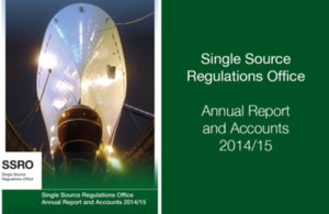Single Source Regulations Office Annual Report and Accounts 2014/15