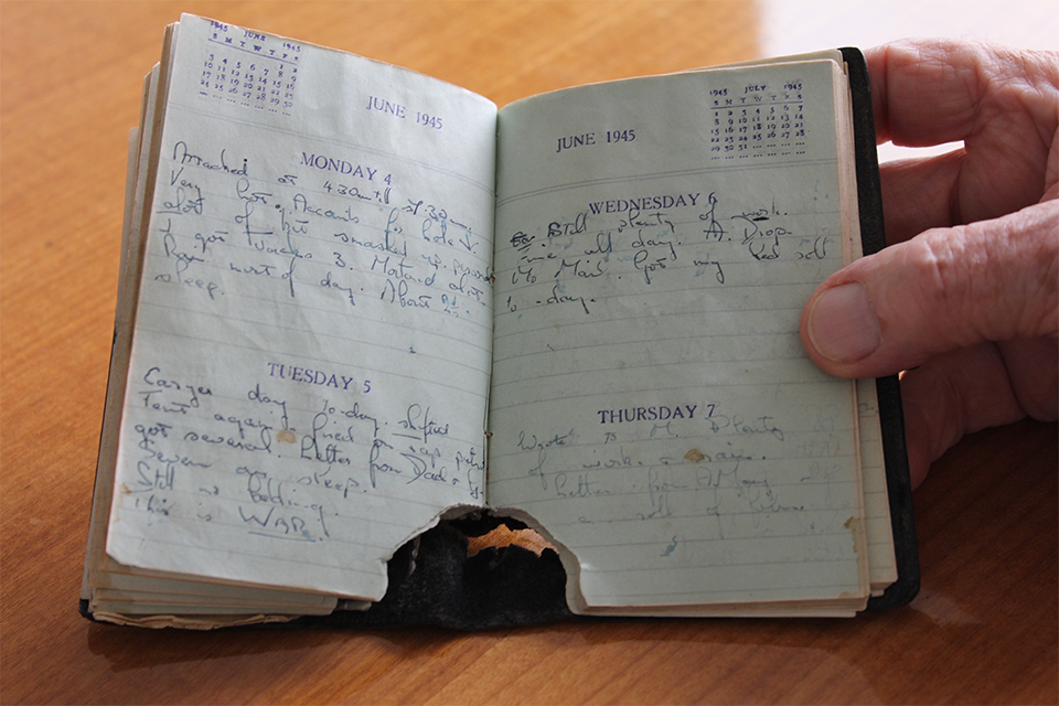 Vic Knibb's Diary