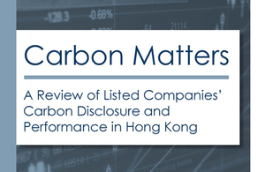Carbon Matters: A Review of Listed Companies' Carbon Disclosure and Performance in Hong Kong