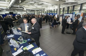 Attendees at the Dstl Supplier Day 2015