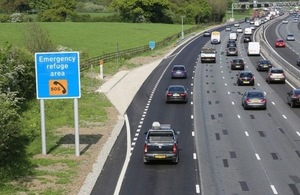 A smart motorway on the M25