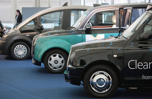 Plug-in taxis.