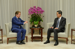 Visit to Hong Kong by Foreign Office Minister Hugo Swire