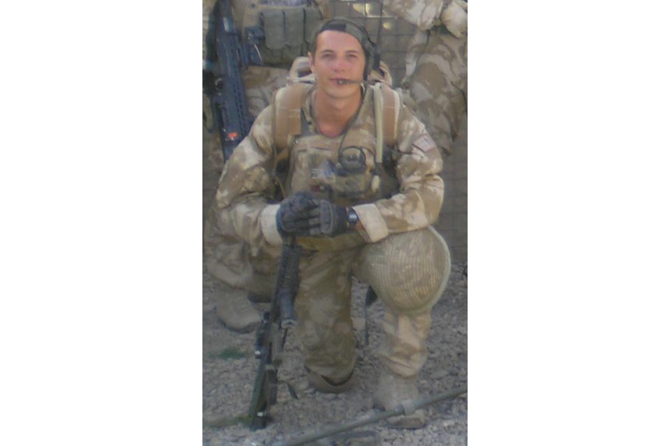 Guardsman Michael Sweeney