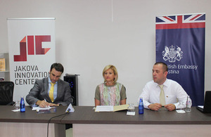 British Embassy supports the establishment of the Business Development and Consulting Office in Gjakova