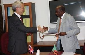 DTA signing ceremony 4 February 2014