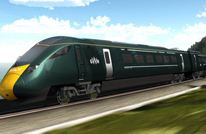New First Great Western long distance train