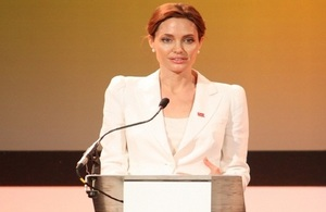 Angelina Jolie Pitt visits Burma