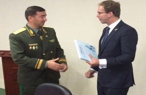 Mr Ellwood and Major General Gundogdyyev