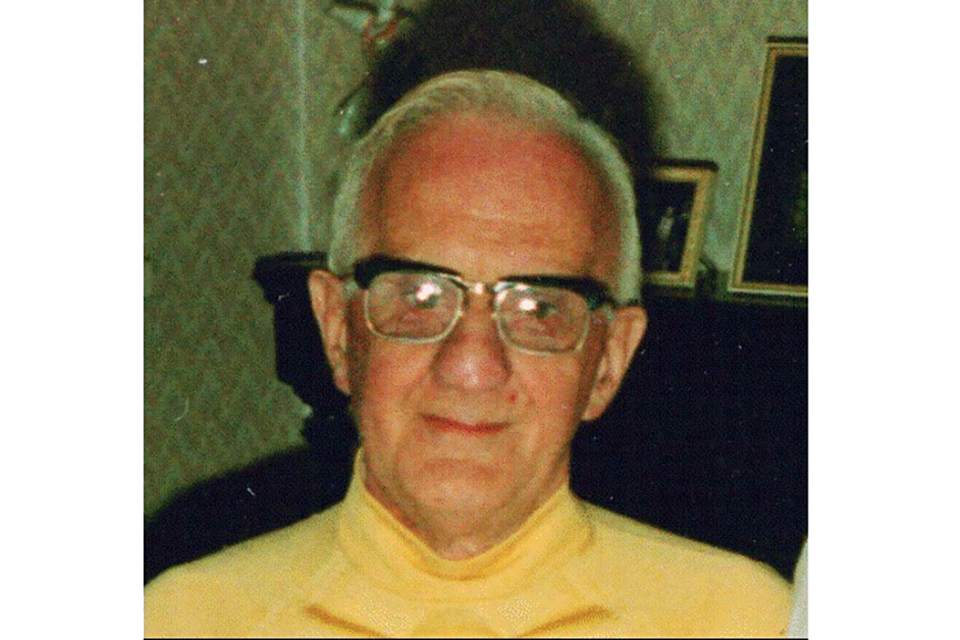 "Tricia's uncle, James Ernest ""Erno"" Taylor"