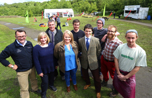 Rory Stewart at National Parks Week