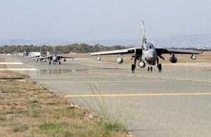 Tornado GR4s at RAF Akrotiri, British Forces Cyprus