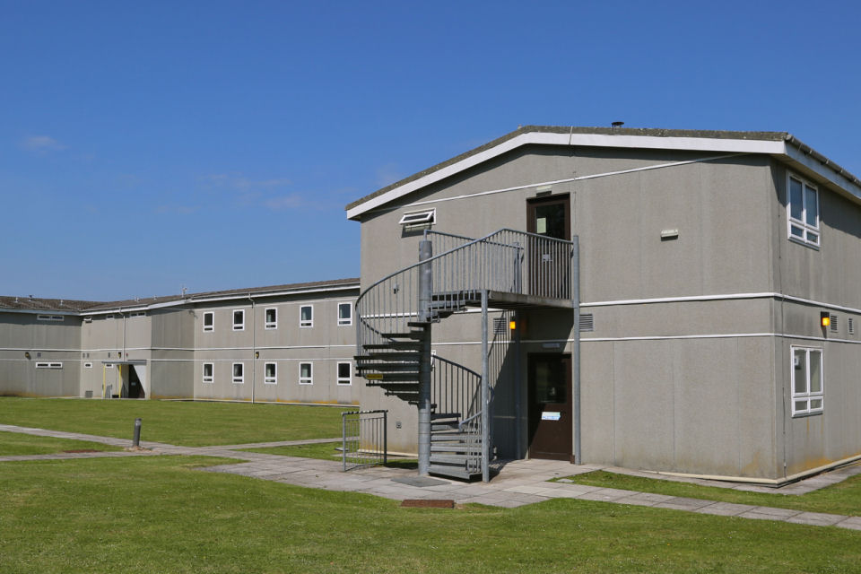Temporary Accommodation Units at Corunna Barracks set to be reused at other MOD sites. [Picture: Nicole Herlihy, Crown Copyright MOD 2015)