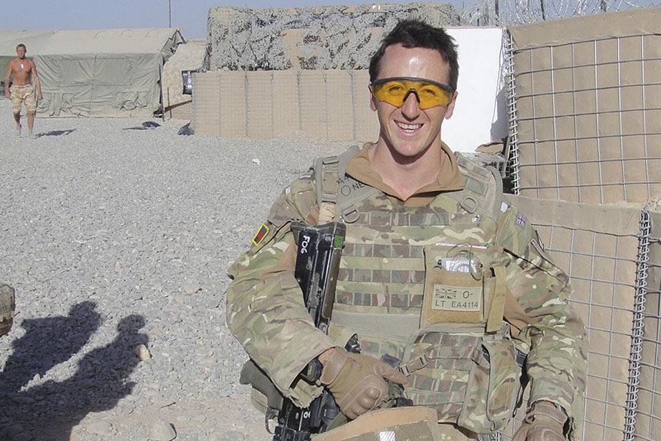 Lieutenant Jonny Eaton