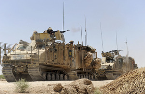The Viking 2, one of the suite of vehicles operated by the 2nd Royal Tank Regiment in Afghanistan