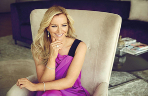 Entrepreneur and businesswomen, Michelle Mone OBE