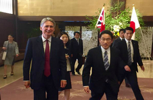 Foreign Secretary in Tokyo