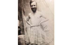 John Riggs as a young man in Burma