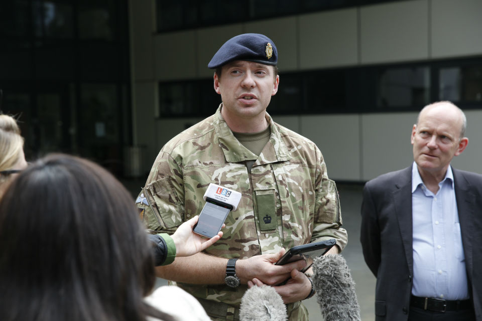 An Army spokesperson provides an update on the WW2 bomb found in Bethnal Green