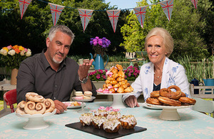 Photo of Great British Bake off