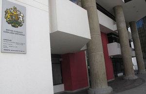 British Embassy Quito