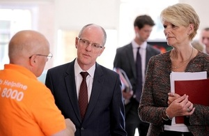 Nick Gibb at UCAS