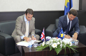 British Embassy supports agricultural development in Kosovo