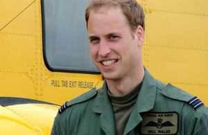 HRH Prince William has successfully completed the final phase of his RAF helicopter flying training to become a fully-qualified Search and Rescue pilot